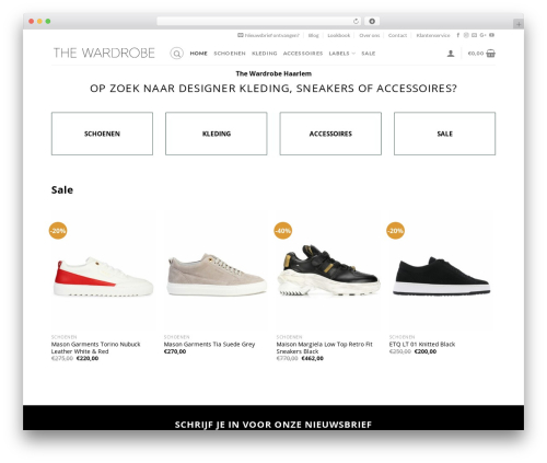 Free WordPress Mailchimp for WooCommerce plugin - thewardrobe.nl