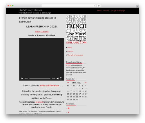 fmagazine top WordPress theme - teach.edilang.com