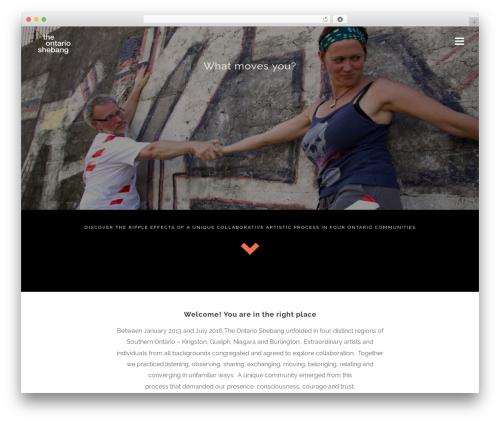 jupiter WordPress theme - theontarioshebang.com