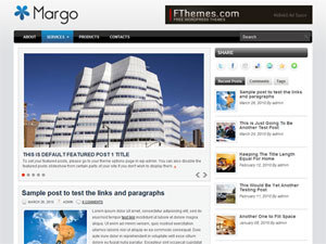 Margo WordPress news template