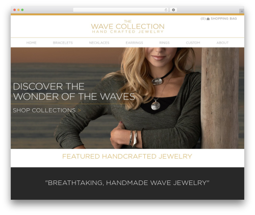 Modality Pro WordPress page template - thewavecollection.com