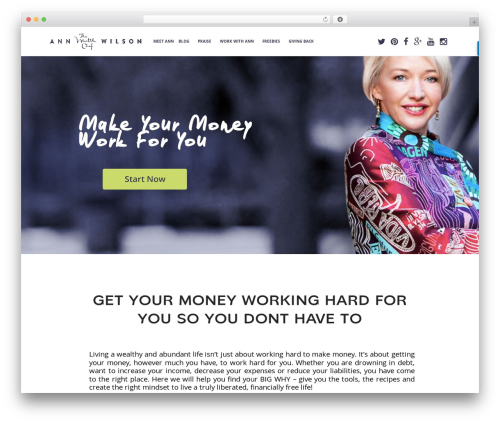 Pro Business WordPress template for business - thewealthchef.com