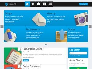 Stratos WordPress theme