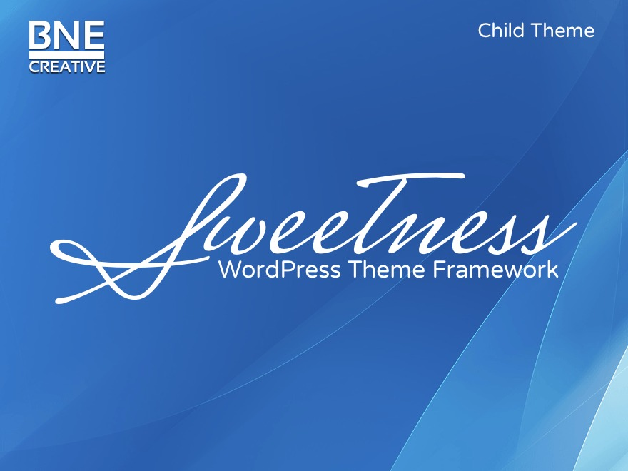 Sweetness Child Theme WP template