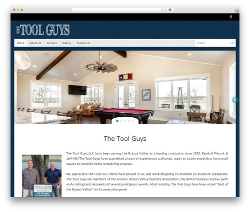 Tempera free WordPress theme - toolguysbcs.com