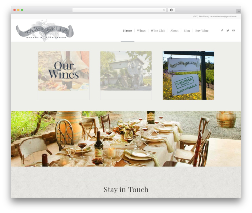 Theme WordPress Enfold - tarabellawinery.com