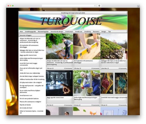 Theme WordPress Exact - turquoise.se