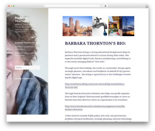 Twenty Fifteen best free WordPress theme - thornton.guru