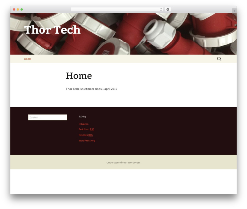 Twenty Thirteen WordPress template free download - thortech.eu