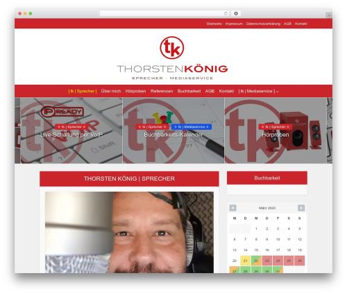 Voice WordPress theme - thorstenkoenig.de