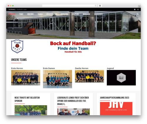 WP template AllStar - tusbrakehandball.de
