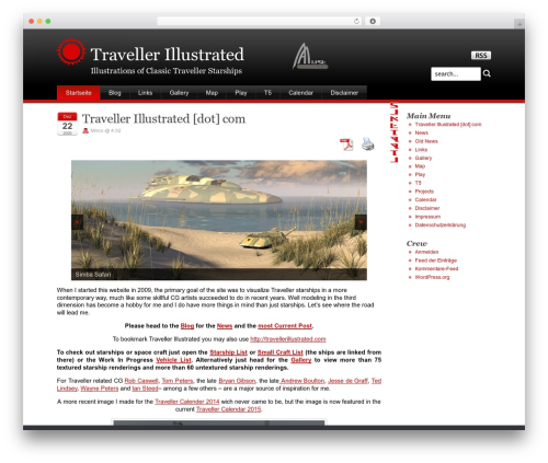 WP template Stardust - traveller.chromeblack.com