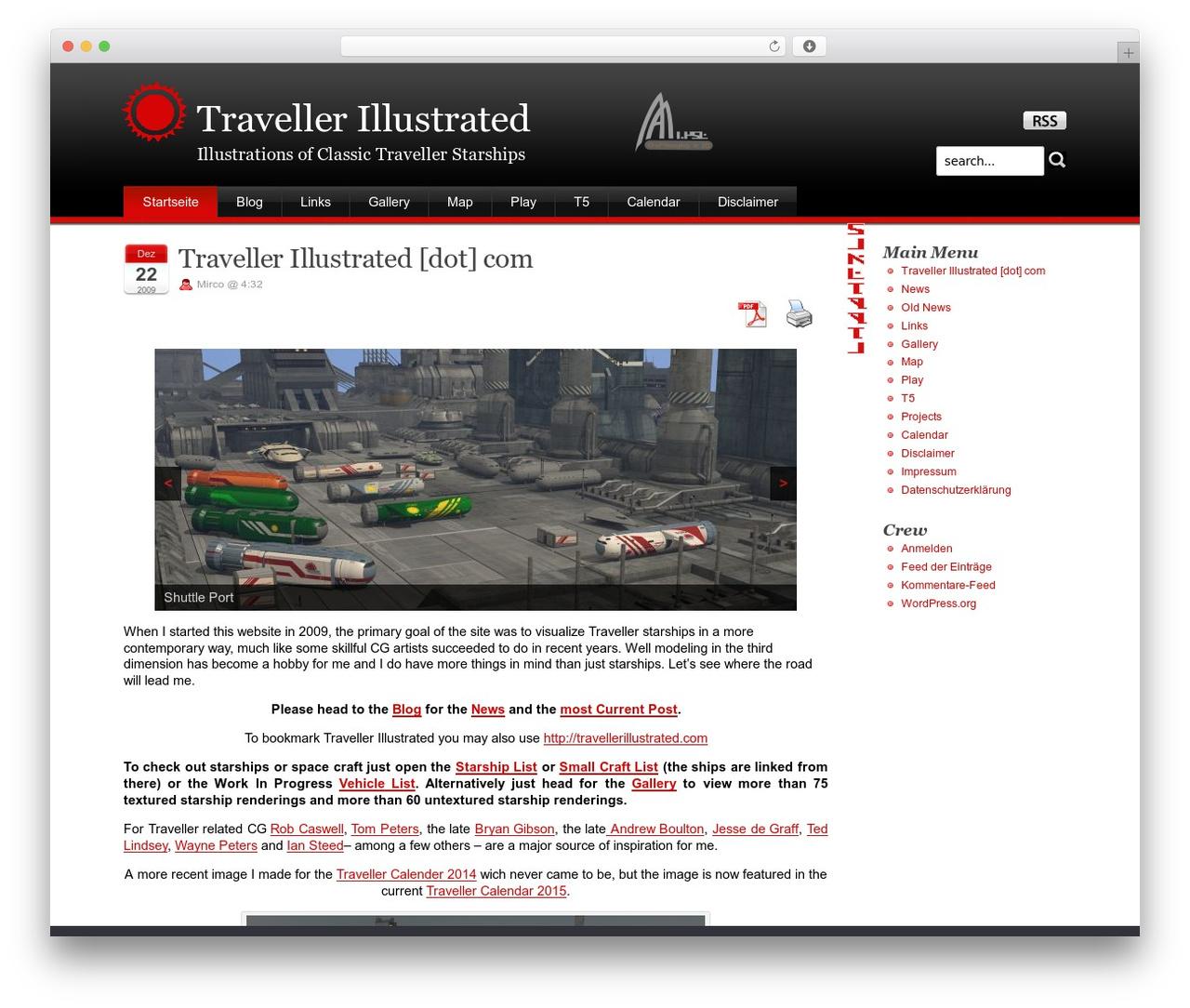 WP template Stardust - traveller.chromeblack.com