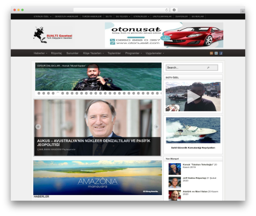 Arras theme WordPress - sualtigazetesi.com