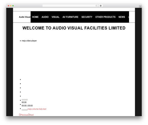 Plus WP theme - sonosinstallers.com