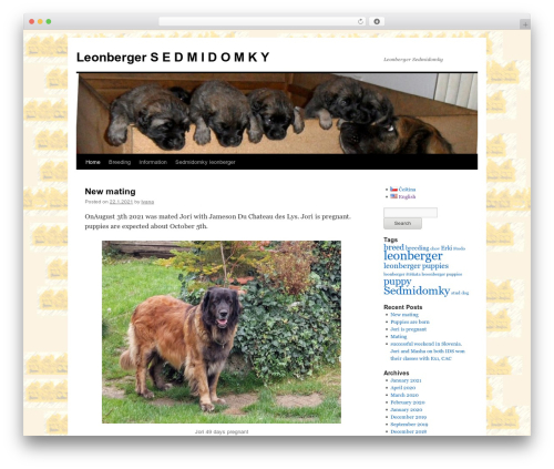 Twenty Ten WordPress template free download - sedmidomky.cz