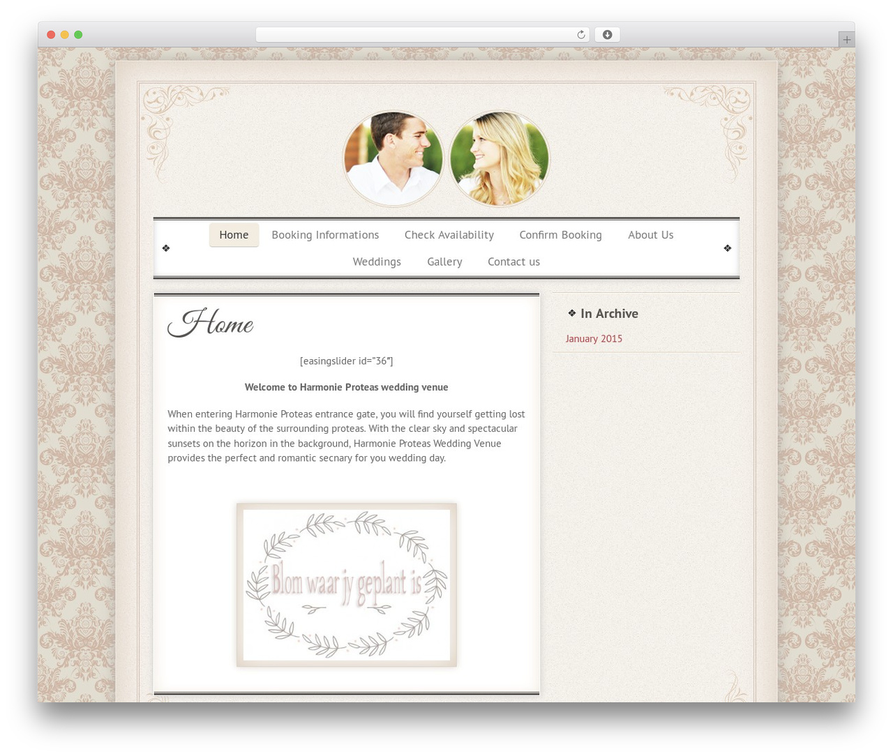Alina Sava vintage wedding wordpress wedding themealina sava