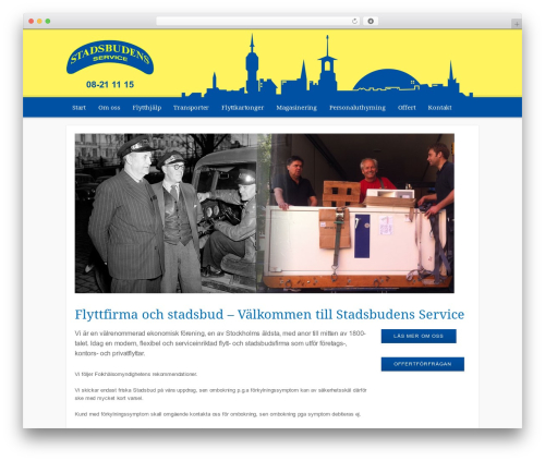 WordPress theme Helloy - Modular - stadsbud.se