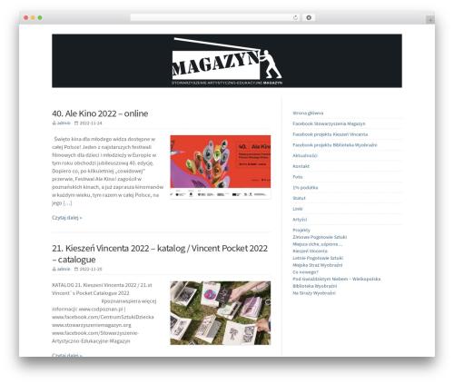 WP-Brilliance theme WordPress - stowarzyszeniemagazyn.org