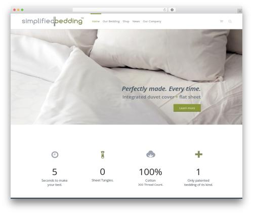 Eden WP template - simplifiedbedding.com