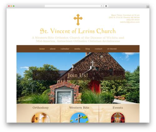 House of Worship Wordpress Theme WordPress theme - stvincentchurch.org