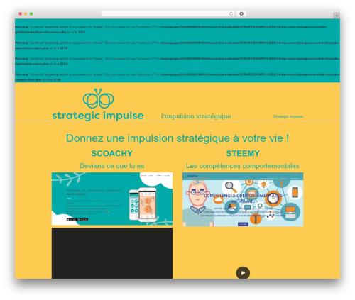 U-Design premium WordPress theme - strategic-impulse.fr