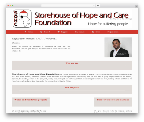 Free WordPress WP Header image slider and carousel plugin - storehouse-of-hope.org