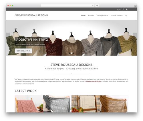 Enfold best WordPress theme - steverousseaudesigns.com