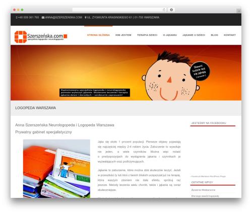 Formation best free WordPress theme - szerszenska.com