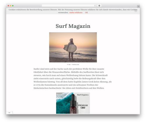 Scrawl WordPress theme download - surf-magazin.net