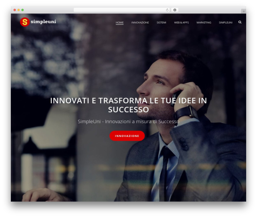 Theme WordPress Jupiter - simpleuni.net