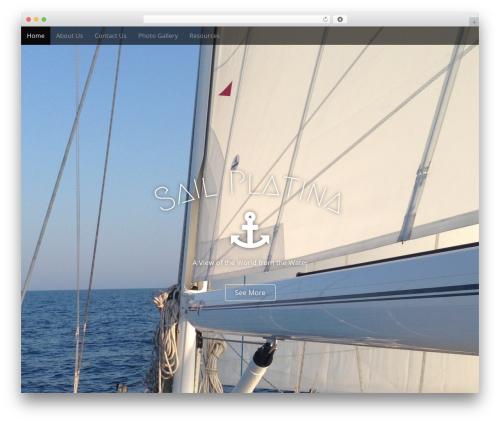 Arcade Basic template WordPress free - sailplatina.com