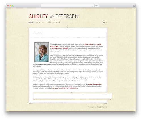DailyNotes top WordPress theme - shirleyjopetersen.com
