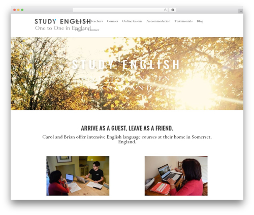Divi WP template - study-english-one-to-one-in-england.com
