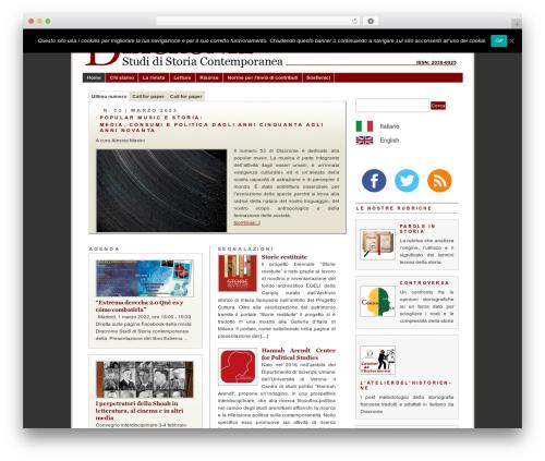 WordPress theme PRiNZ BranfordMagazine 3.0 - studistorici.com