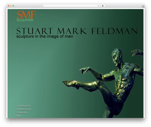 Agora WordPress theme - stuartmarkfeldman.com