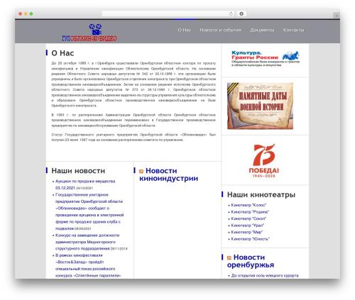 Best WordPress theme Kirigami - oblkinovideo.ru