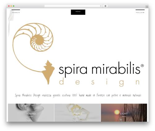 Boroda best WordPress theme - spiramirabilisgioielli.com