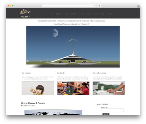 QualiFire WordPress page template - studio4llc.com