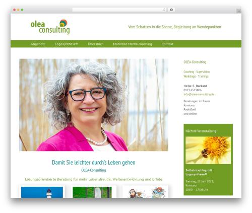 Theme WordPress Avada - olea-consulting.de