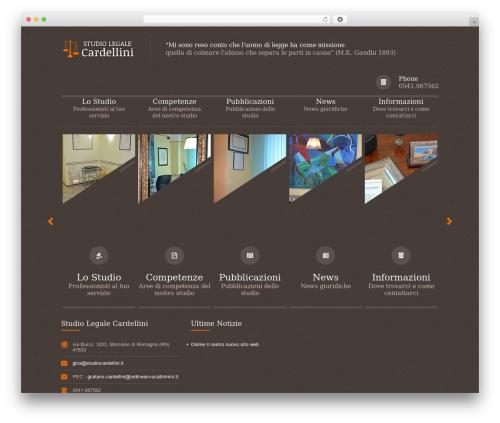 Themis - Law Business WordPress Theme WP template - studiocardellini.it