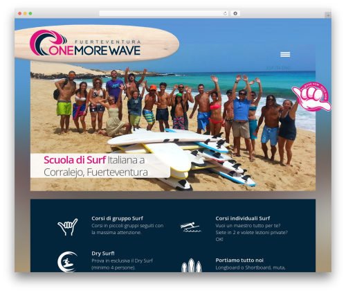 WordPress instagram-picture plugin - onemorewave.es/it