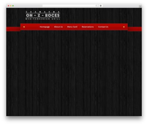 Bordeaux Premium Theme premium WordPress theme - onzrocks.ca