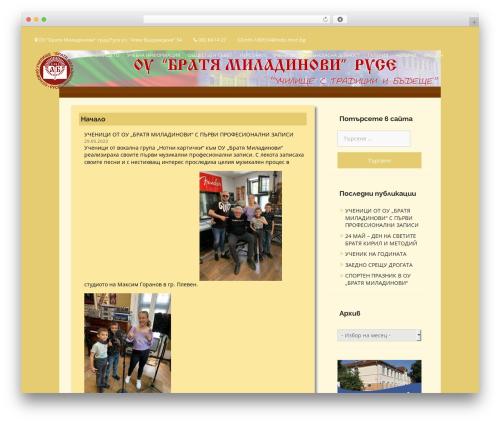 Business Era theme WordPress - oubratyamiladinovi.com