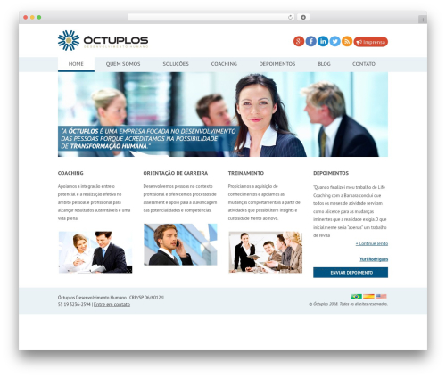 Clearly theme WordPress free - octuplos.com.br
