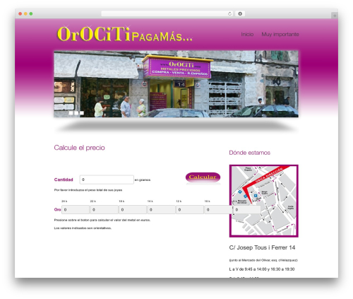 Theme WordPress smoothbiz - orociti.com