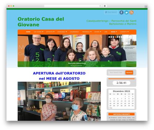 D5 Socialia WordPress free download - oratoriocasadelgiovane.it