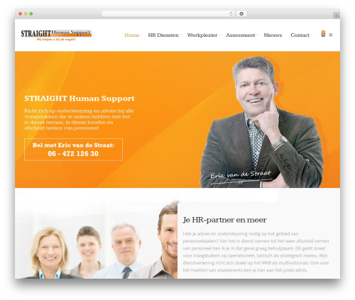 Elise theme WordPress - straight-hs.nl
