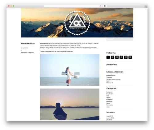 Template WordPress -BLOGUM - oswaldocasado.com