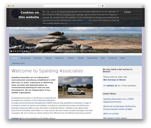 Dynamik-Gen top WordPress theme - spaldingassociates.co.uk